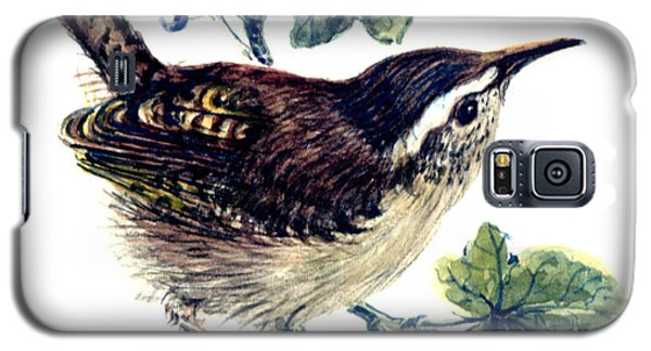 Wren In The Ivy Galaxy S5 Case by Nell Hill