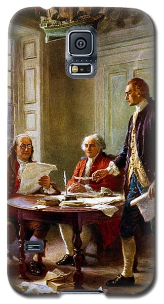 Best Sellers -  - Galaxy S5 Cases - Writing The Declaration of Independence Galaxy S5 Case by War Is Hell Store