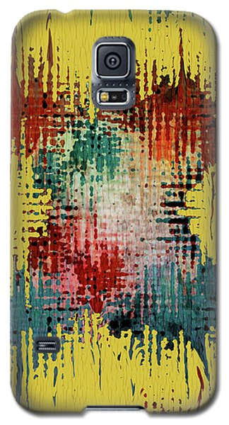Mixed Media Galaxy S5 Cases - X Marks the Spot Galaxy S5 Case by Bonnie Bruno