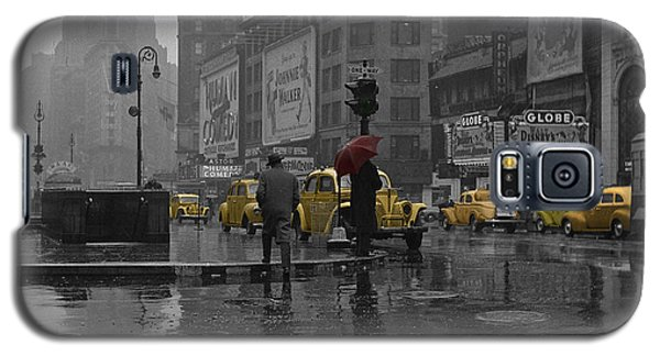 Architecture Galaxy S5 Cases - Yellow Cabs New York Galaxy S5 Case by Andrew Fare