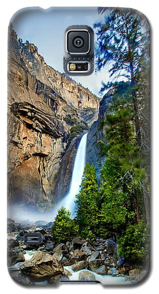 Galaxy S5 Cases - Yosemite Waterfall Galaxy S5 Case by Az Jackson