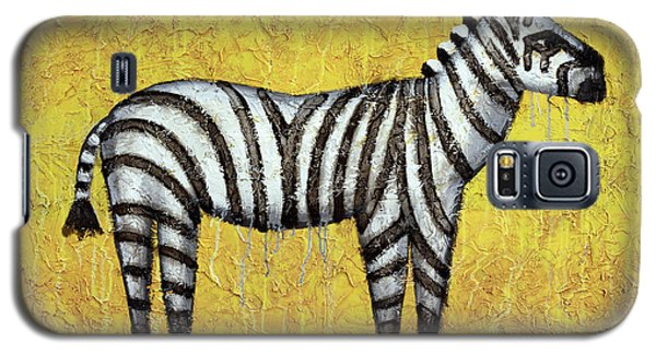 Zebra Galaxy S5 Case by Kelly Jade King