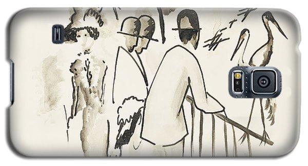 Zoological Garden II Galaxy S5 Case by August Macke