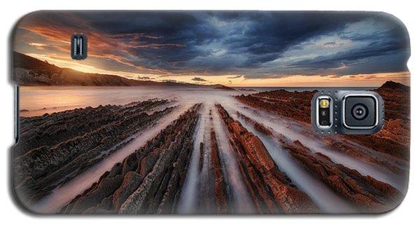 Galaxy S5 Cases - Zumaia Flysch 6 Galaxy S5 Case by Juan Pablo De