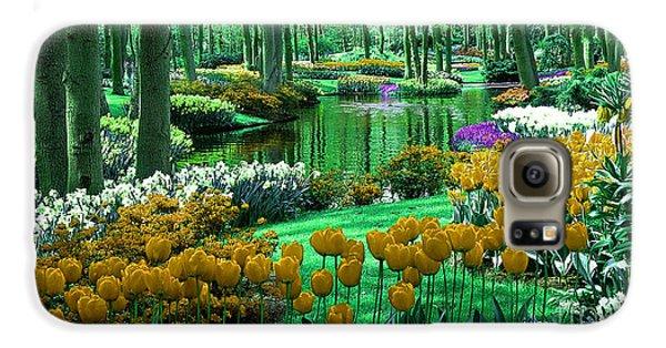 Flower Garden Of Love Galaxy S6 Case by Marvin Blaine