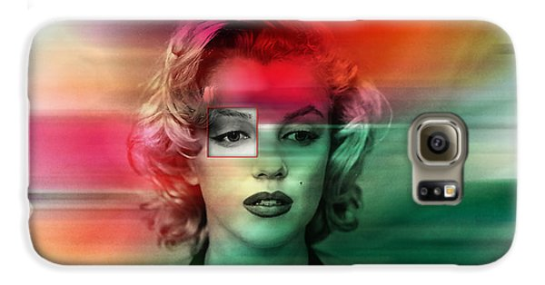 Marilyn Monroe Painting Galaxy S6 Case by Marvin Blaine