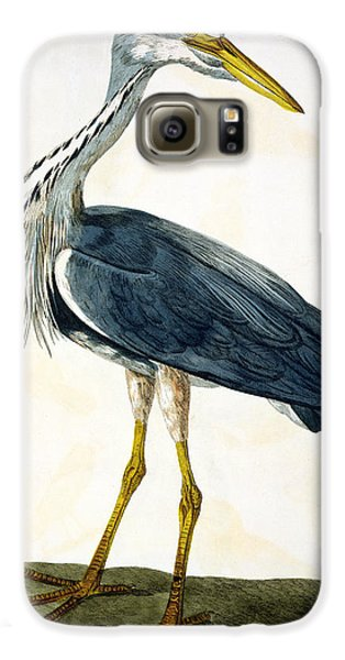 The Heron  Galaxy S6 Case by Peter Paillou