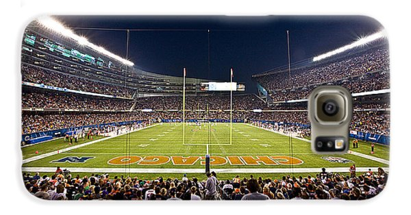 0588 Soldier Field Chicago Galaxy S6 Case by Steve Sturgill