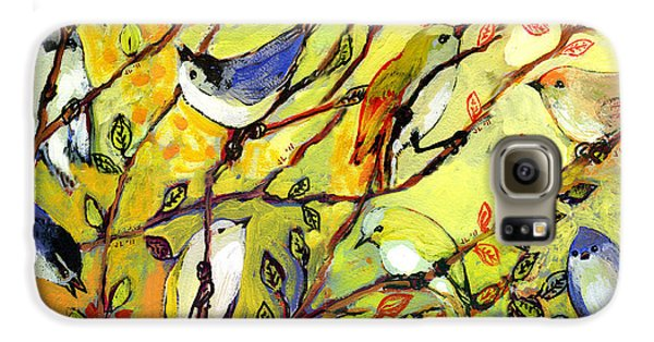 16 Birds Galaxy S6 Case by Jennifer Lommers