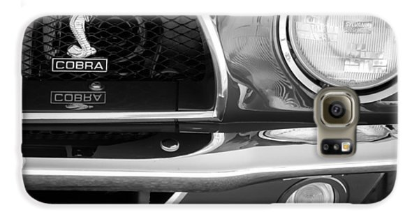 1968 Ford Mustang Fastback 427 Ci Cobra Grille Emblem Galaxy S6 Case by Jill Reger
