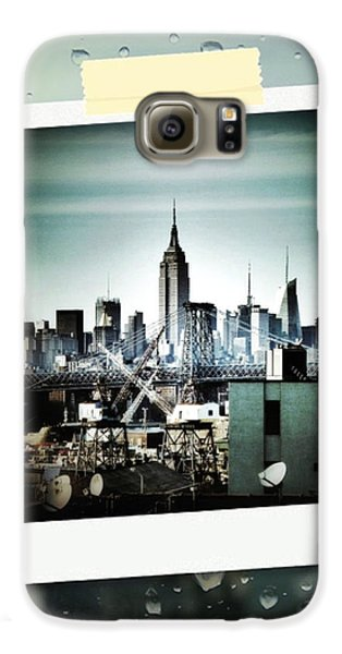 April In Nyc Galaxy S6 Case by Natasha Marco
