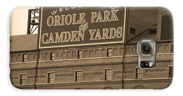 Baltimore Orioles Park At Camden Yards Galaxy S6 Case by Frank Romeo