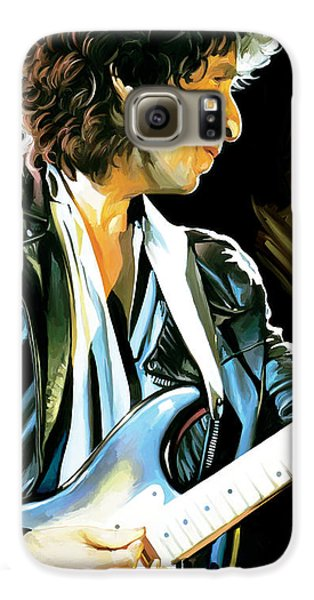 Bob Dylan Artwork 2 Galaxy S6 Case by Sheraz A