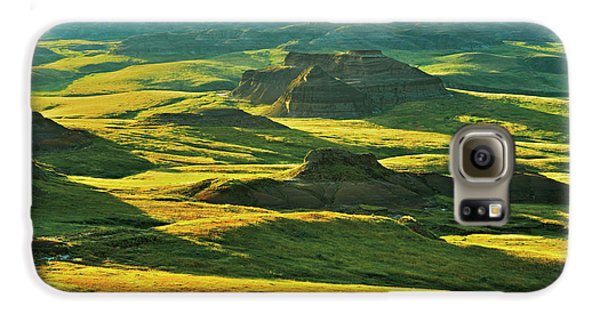 Canada, Saskatchewan, Grasslands Galaxy S6 Case by Jaynes Gallery