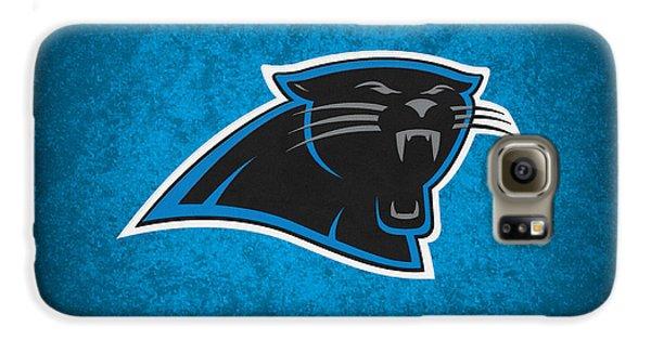 Carolina Panthers Galaxy S6 Case by Joe Hamilton