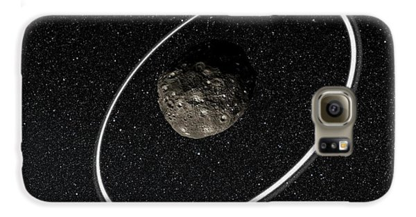 Chariklo Minor Planet And Rings Galaxy S6 Case by European Southern Observatory