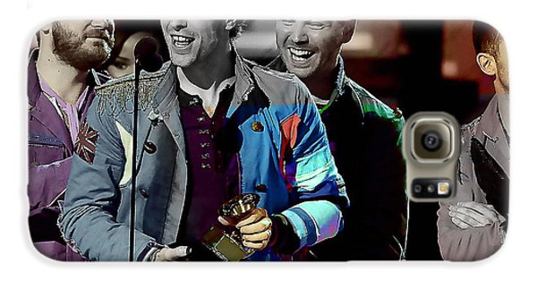 Coldplay Galaxy S6 Case by Marvin Blaine