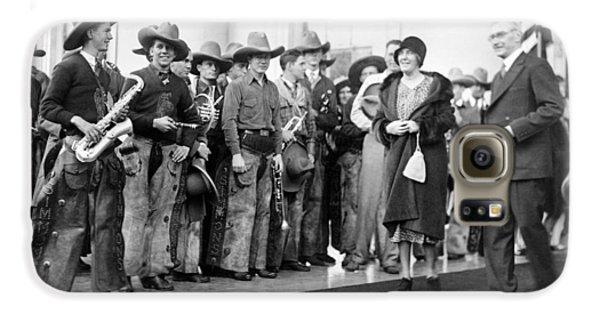 Cowboy Band, 1929 Galaxy S6 Case by Granger