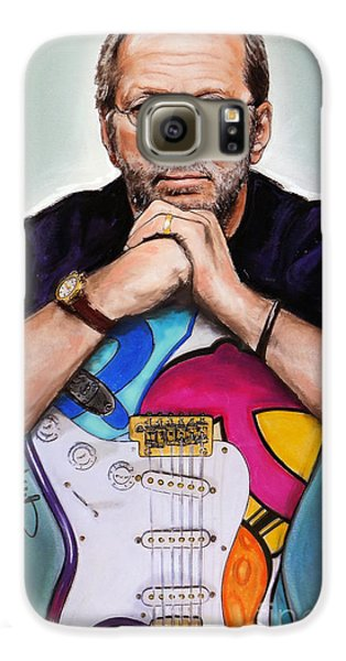 Eric Clapton Galaxy S6 Case by Melanie D