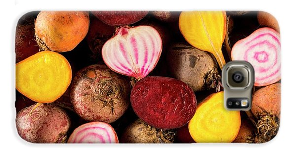 Fresh Beetroot And Red Onions Galaxy S6 Case by Aberration Films Ltd