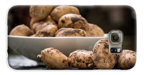 Fresh Potatoes Galaxy S6 Case by Aberration Films Ltd