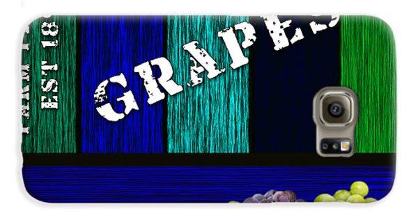 Grape Farm Galaxy S6 Case by Marvin Blaine