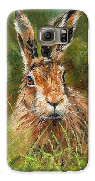 hARE Galaxy S6 Case by David Stribbling