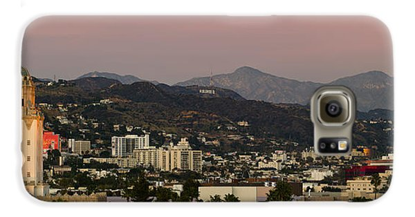 High Angle View Of A City, Beverly Galaxy S6 Case by Panoramic Images