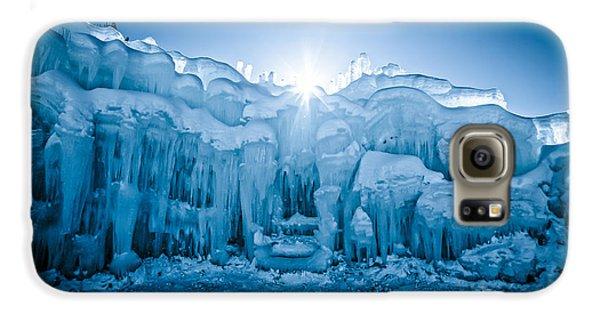 Ice Castle Galaxy S6 Case by Edward Fielding