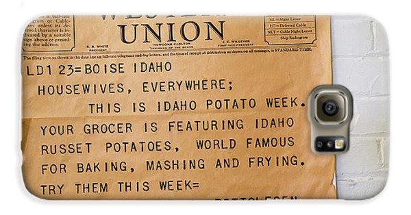 Idaho Potato Museum Galaxy S6 Case by Jim West