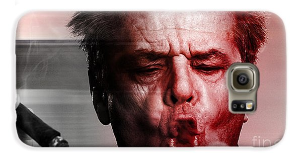 Jack Nicholson Galaxy S6 Case by Marvin Blaine