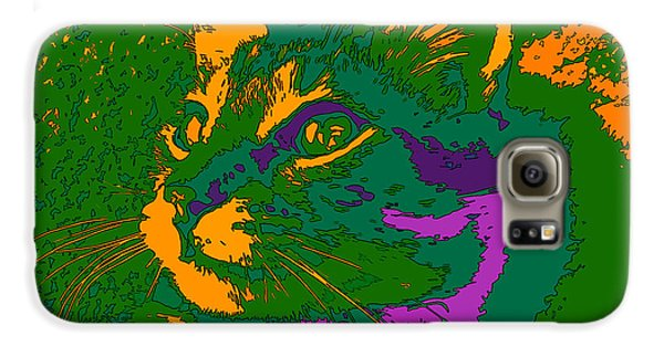 Jungle Cat Samsung Galaxy Case by Hanza Turgul
