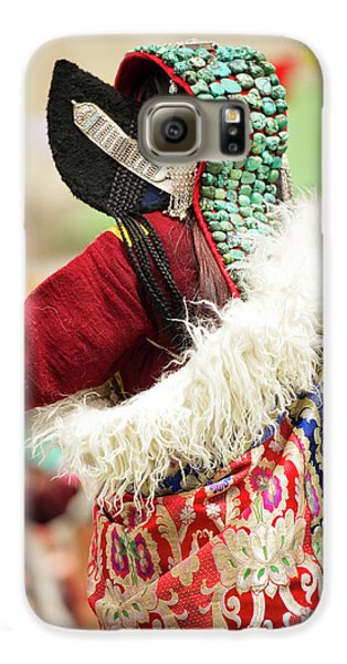 Ladakh, India Married Ladakhi Women Galaxy S6 Case by Jaina Mishra