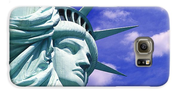Lady Liberty Galaxy S6 Case by Jon Neidert