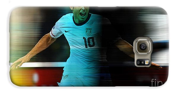 Landon Donovan Galaxy S6 Case by Marvin Blaine