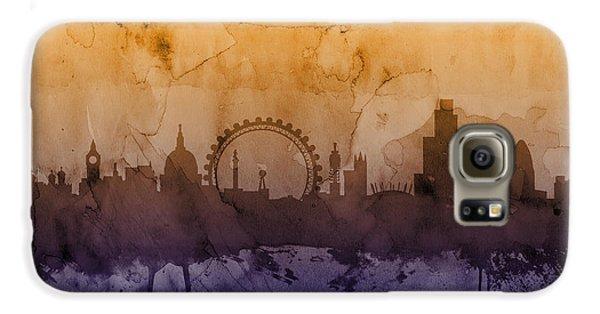 London England Skyline Galaxy S6 Case by Michael Tompsett