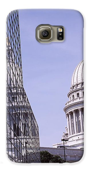 Low Angle View Of A Government Galaxy S6 Case by Panoramic Images