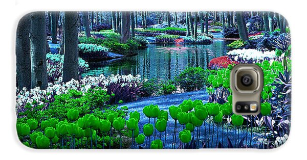 Magical Flower Garden Galaxy S6 Case by Marvin Blaine