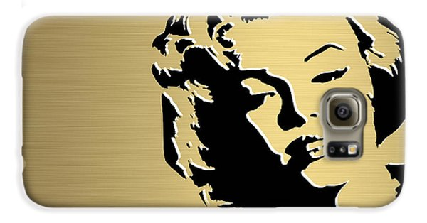 Marilyn Monroe Gold Series Galaxy S6 Case by Marvin Blaine