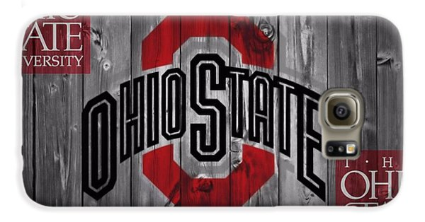 Ohio State Buckeyes Galaxy S6 Case by Dan Sproul