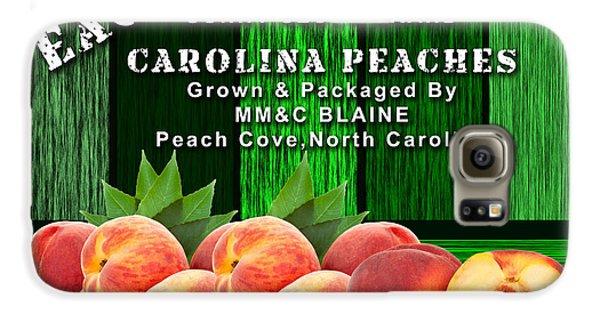 Peach Farm Galaxy S6 Case by Marvin Blaine