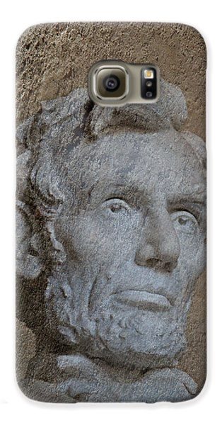 President Lincoln Galaxy S6 Case by Skip Willits