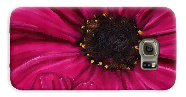Purple Beauty Galaxy S6 Case by Lourry Legarde