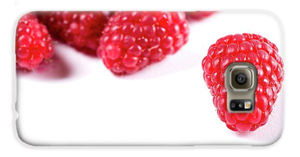 Raspberries Galaxy S6 Case by Aberration Films Ltd