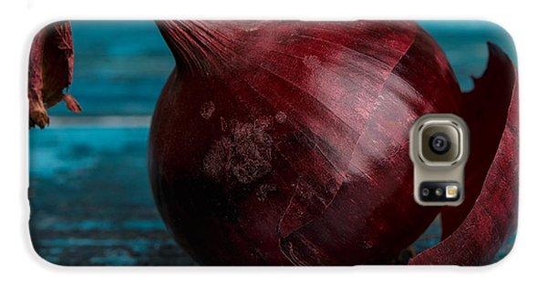 Red Onions Galaxy S6 Case by Nailia Schwarz