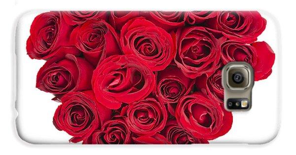 Rose Heart Galaxy S6 Case by Elena Elisseeva