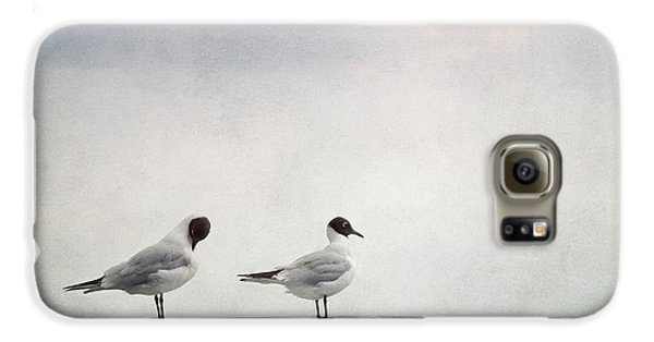 Seagulls Galaxy S6 Case by Priska Wettstein