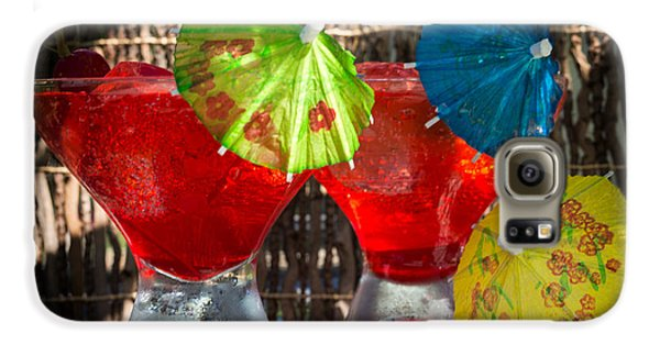 Shirley Temple Cocktail Galaxy S6 Case by Iris Richardson