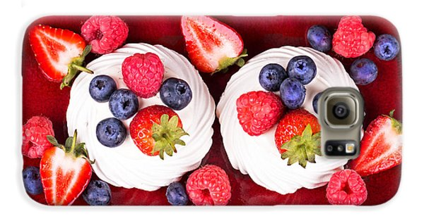 Summer Fruit Platter Galaxy S6 Case by Jane Rix