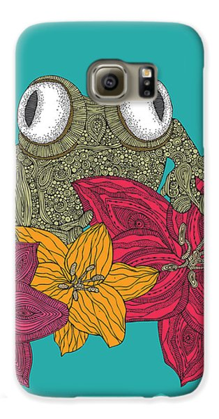 The Frog Galaxy S6 Case by Valentina Ramos